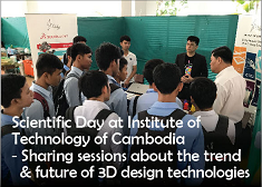 Scientific Day at Institute of Technology of Cambodia