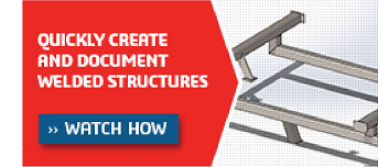 Quickly Create and Document Welded Structures