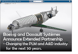 Boeing and Dassault Systemes Announce Extended Partnership