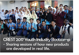 CREST 2017 Youth Industry Bootcamp