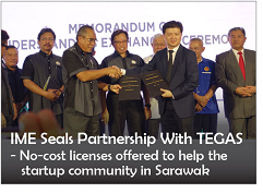IME Seals Partnership with TEGAS