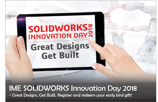 IME SOLIDWORKS Innovation Day 2018