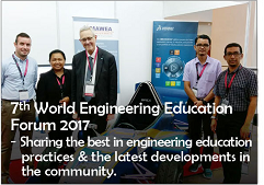 7th World Engineering Education Forum 2017