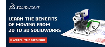Benefits of Moving from 2D to 3D Solidworks