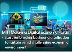 MITI Malaysia Digital Economy Forum