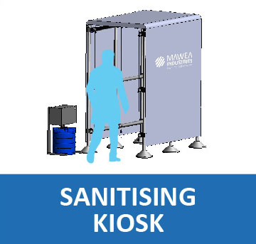 Sanitising Kiosk
